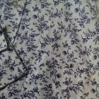 koszula w delikatny kwiatowy wzór