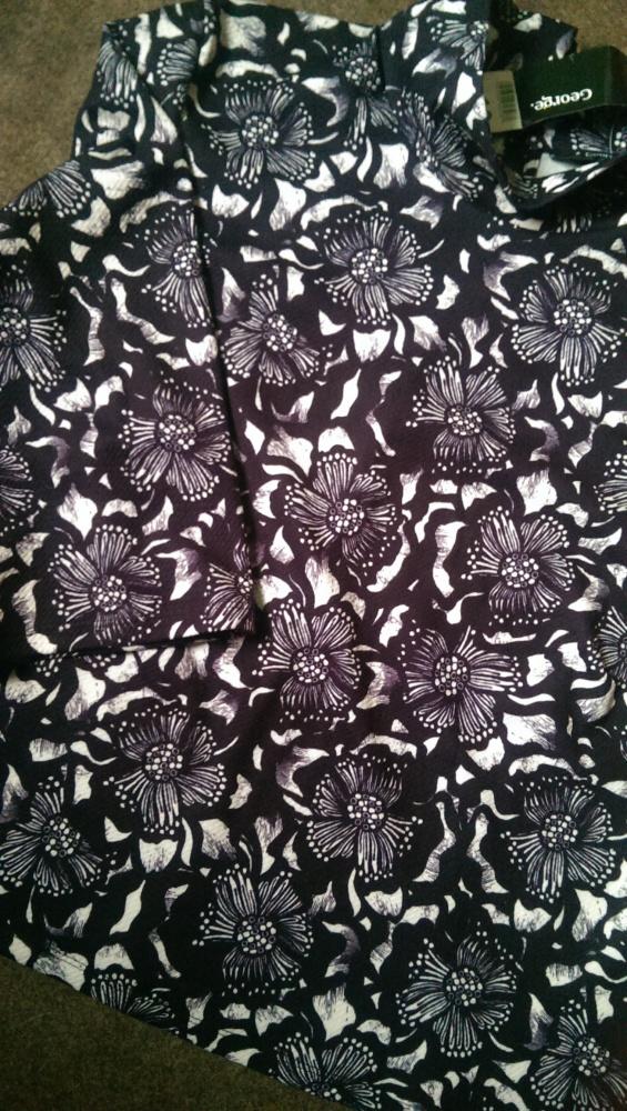 bluzka bluza z motywem kwiatowym