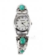 Srebrny zegarek navajo