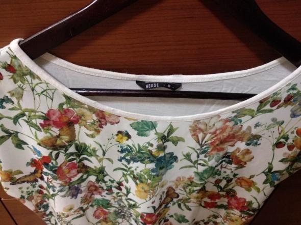 Bluzeczka z motywem łaki S house...
