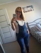 Spodnie jeansy dżinsy ciążowe m l 38 40
