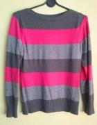 sweter w paski S M