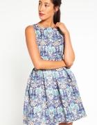Closet London Sukienka multi błyszcząca 34 XS UK 8...