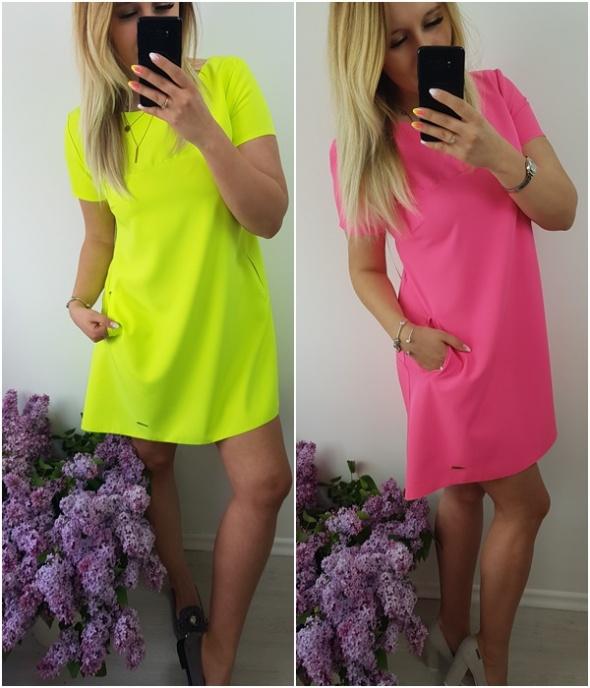 Neon sukienki