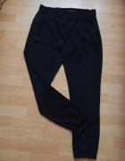 Eleganckie czarne spodnie sisley
