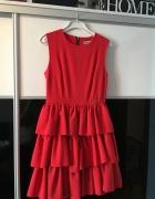 Czerwona sukienka SMoriss rozmiar M...