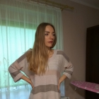 Asymetryczny sweter H&M