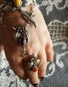 Bransoleta z pierścionkiem