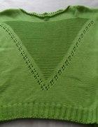 sweterek nowy zielony