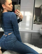 Genialne legginsy jeansowe