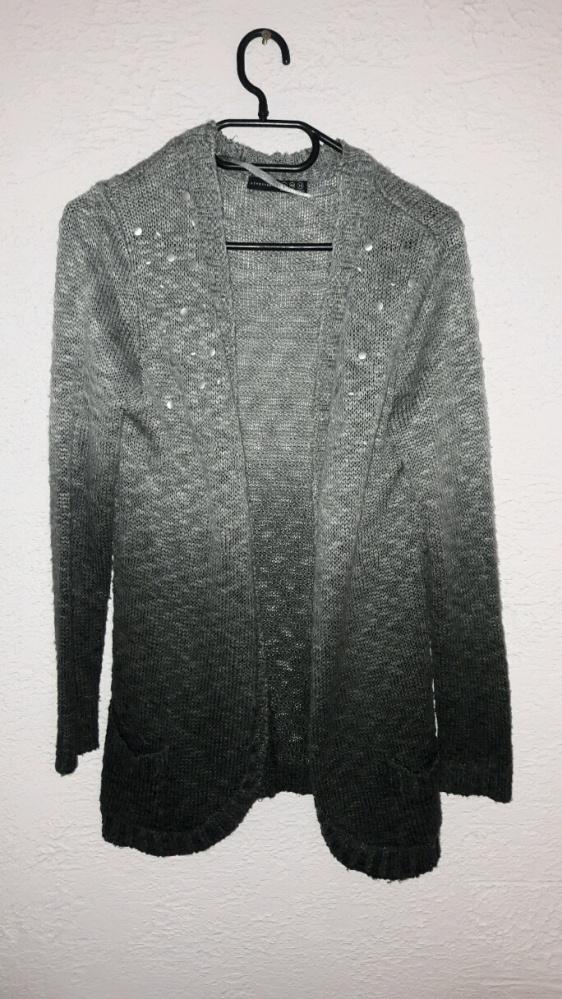 narzuta sweterek melanż