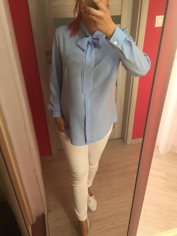 Bluzki koszula błękit