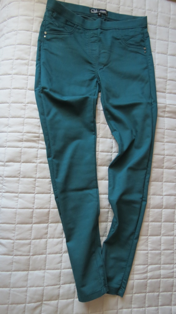 Spodnie morska zielen tregginsów