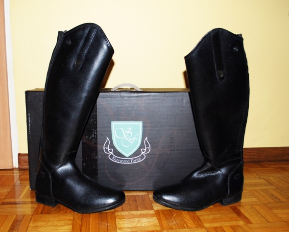 Oficerki jeździeckie Sherwood Hemsley 39 skóra buty klasyk