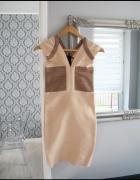 Piękna Bandażowa ekskluzywna sukienka 36 S bandage herve