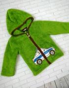 Bluza miś ciepła zielona 92 98...
