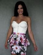 Super modna spódnica z baskinką...