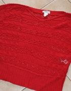 Ażurowy sweterek Bonprix rozm 40 42