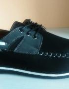 Modne wygodne eleganckie buty mokasyny męskie rozmiar 40 41 42 43 44 45