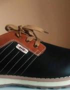 Modne wygodne eleganckie buty męskie rozmiar 40 41 42 43 44 45