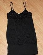 Czarna sukienka Tally Weijl cekiny