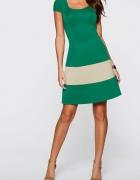 Atrakcyjna sukienka neoprenowa marki Bodyflirt