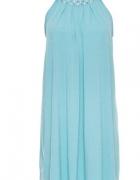 bodyflirt sukienka w kolorze seledynowym