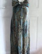 Letnia sukienka maxi r M ciążowa...