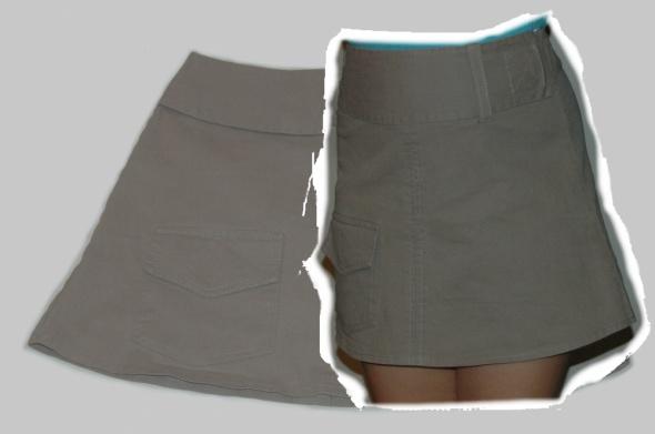 Spódnice Spódnica materiałowa rozm S