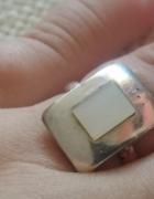 Z kamieniem księżycowym srebro 925