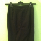 Zara kruczoczarna ołówkowa spódnica jak nowa 36