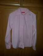 koszula różowa zapinana na guziki