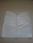 Biała mini jeans...