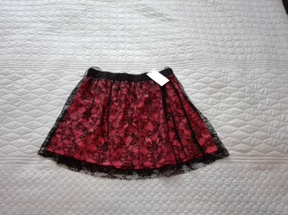 Spódnice Rozkloszowana nowa spódnica koronka Mango L