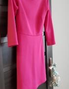 Sukienka różowa malinowa mohito