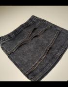 Jeansowa spódniczka S...