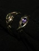 2 srebrne pierścionki