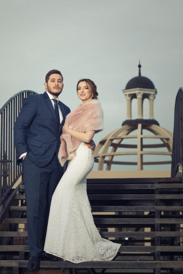 Eleganckie stylizacja ślubna wrzosowa