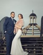 stylizacja ślubna wrzosowa