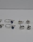 Nowe srebrne kolczyki prezentowe