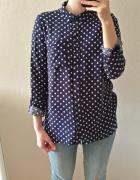 Koszula H&M w kropki 34 36