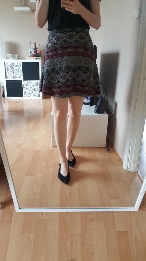 Spódnice aztecka spódniczka na gumce