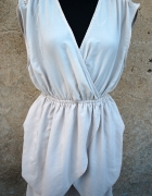 nowa sukienka H&M bezowa M L
