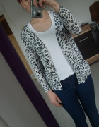 sweter panterka leopard cętki