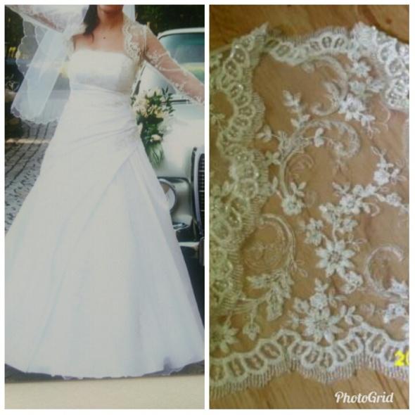 Suknie ślubne Suknia ślubna biała
