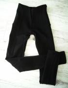 czarne legginsy tregginsy zara xs xxs...