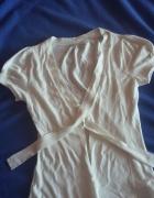 Biala bawelniana bluzeczka 38