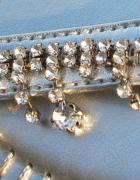 NOWE biżuteryjne japonki srebrne i cyrkonie