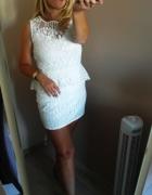 Ładna sukienka koronka