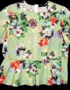 zara śliczna bluzeczka w kwiaty